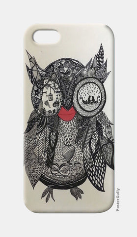 The Mystic Owl  iPhone 5 Cases | Artist : Quirky Designs by Priyanka Singhania