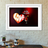 Premium Italian Wooden Frames, Cocktail Love Premium Italian Wooden Frames | Artist : Anushree Jaiswal, - PosterGully - 6