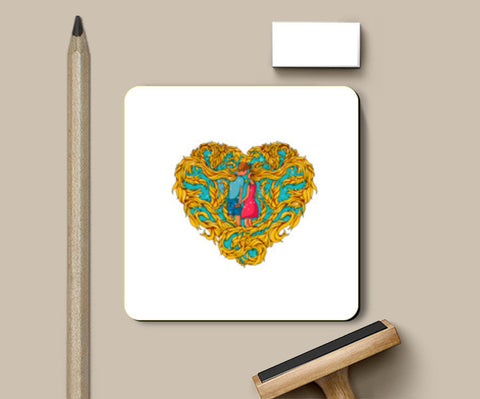 Forever in Love Coasters | Artist : Harsimran sain