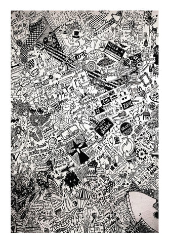 Endless doodle 2 Wall Art | Artist : Sukanya Chakraborty