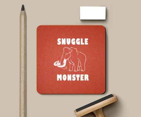 Coasters, Snuggle Monster Coasters | Artist : Dr. Green, - PosterGully
