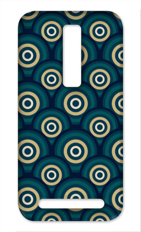 Dark Circles Seamless Pattern Asus Zenfone 2 Cases | Artist : Designerchennai