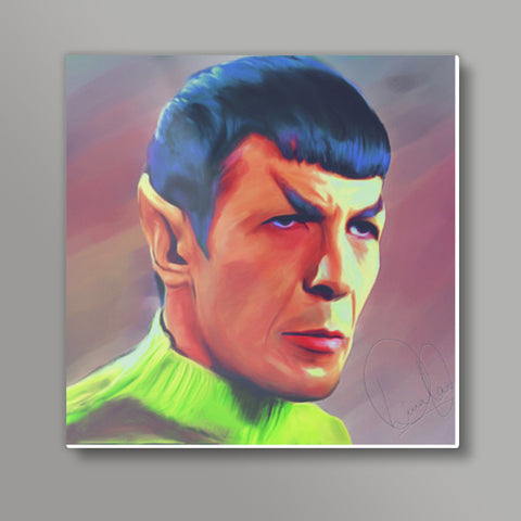 Spock Metal Prints | Artist : Delusion