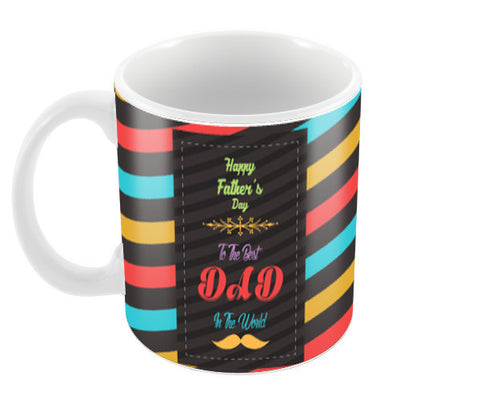 The best dad the world Coffee Mugs | Artist : Designerchennai