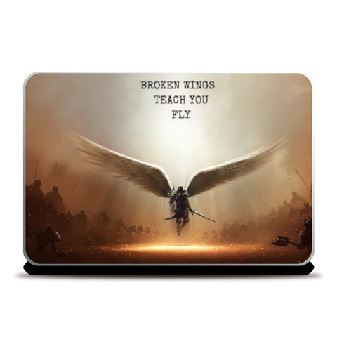 Laptop Skins, Broken Wings Laptop Skin | Artist: Nagesh Kanduru, - PosterGully