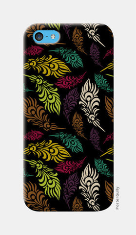 Seamless hand drawn vector leaves  iPhone 5c Cases | Artist : Designerchennai