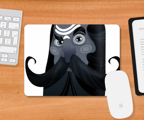 Mousepad, looks of Sadhu Mousepad | Artist : NIKHILESH KHATRI, - PosterGully