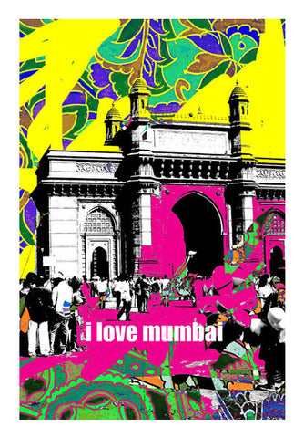 i love mumbai Wall Art | Artist : Pradeesh K