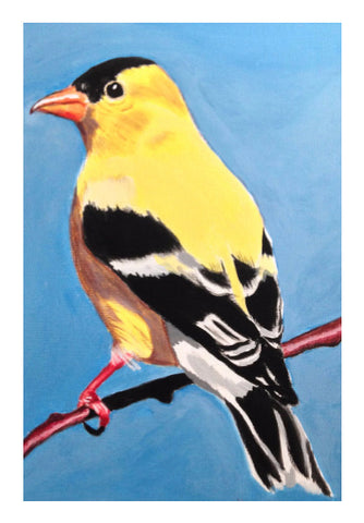 Wall Art, Goldfinch Artwork | Artist: Anuja Katti, - PosterGully