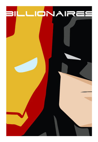 Ironman vs. Batman  Wall Art | Artist : Shweta Paryani