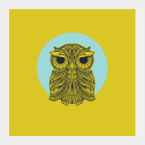 Owl Square Art Prints PosterGully Specials