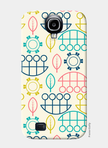 Multicolored art design vector pattern Samsung S4 Cases | Artist : Designerchennai