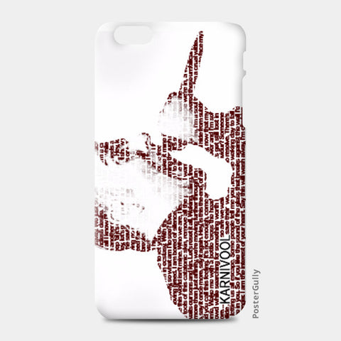 iPhone 6 Plus / 6s Plus Cases, Karnivool iPhone 6 Plus / 6s Plus Case | Artist: Rahul Trivedi, - PosterGully