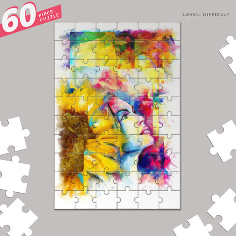 dream girl Jigsaw Puzzles | Artist : Pradeesh K