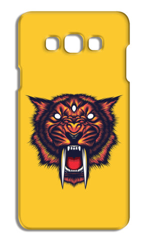 Saber Tooth Samsung Galaxy A7 Cases | Artist : Inderpreet Singh