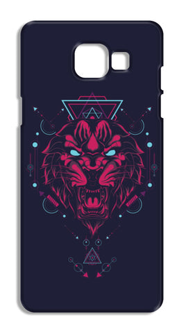The Tiger Samsung Galaxy A5 2016 Cases | Artist : Inderpreet Singh