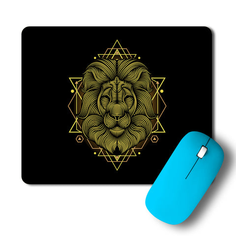 Lion Intricate Artwork Mousepad