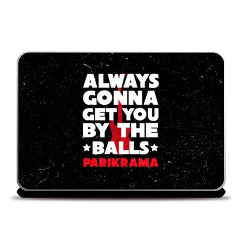 Laptop Skins, By The Balls Laptop Skins | Artist : Parikrama Officials, - PosterGully