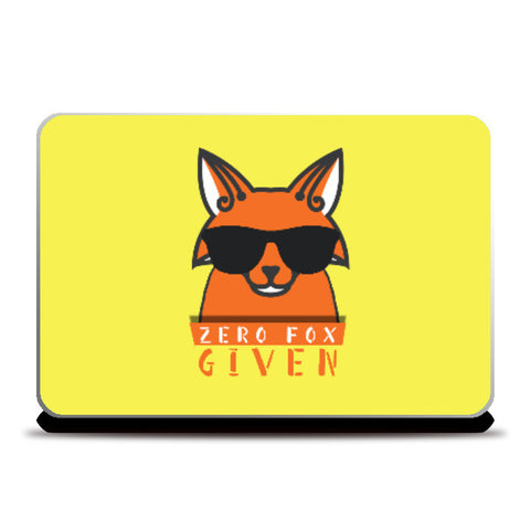 Laptop Skins, Zero Fox Given Laptop Skin | Artist: Shivam Dhuria, - PosterGully