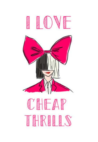 PosterGully Specials, CHEAP THRILLS Wall Art | Artist : DISHA BHANOT, - PosterGully