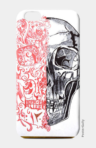 Skull iPhone 6/6S Cases | Artist : Rahul Tanwar