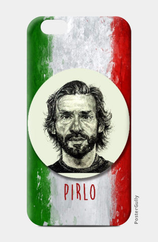 iPhone 6 / 6s, Andrea Pirlo iPhone 6 / 6s Case | Artist: Pushkar Priyadarshi, - PosterGully