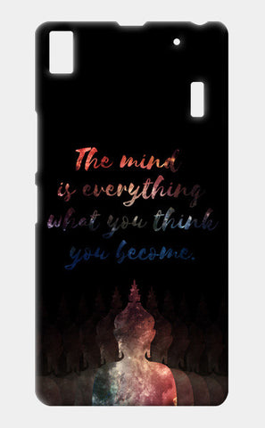 Buddha Quote - Motivational!! Lenovo A7000 Cases | Artist : Dolly P