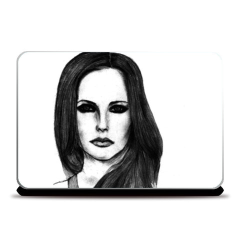 Laptop Skins, Avril Lavigne Sketch Laptop Skins | Artist : Richard Howardson, - PosterGully