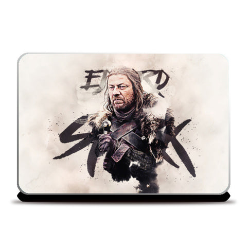 Eddard Stark Digital Painting | Game of Thrones Laptop Skins | Artist : Gub Gub | Special Deal - Size 14.1