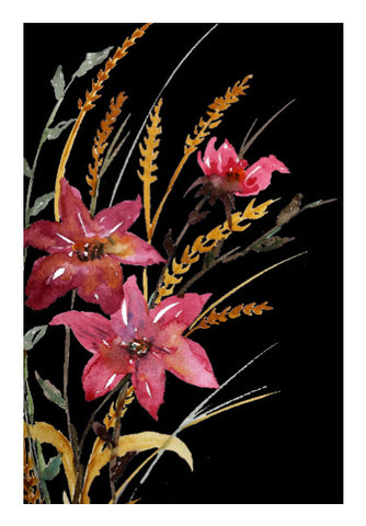 Wall Art, Wildflowers Wall Art I Artist: Seema Hooda, - PosterGully