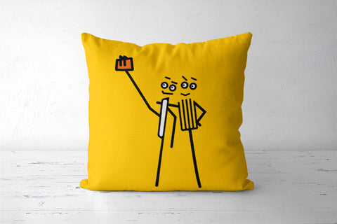 Foodie selfie cushion covers By DVSK