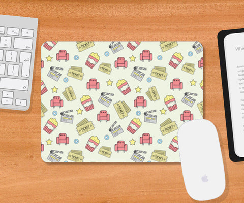 Movie time Mousepad | Artist : Debasmita