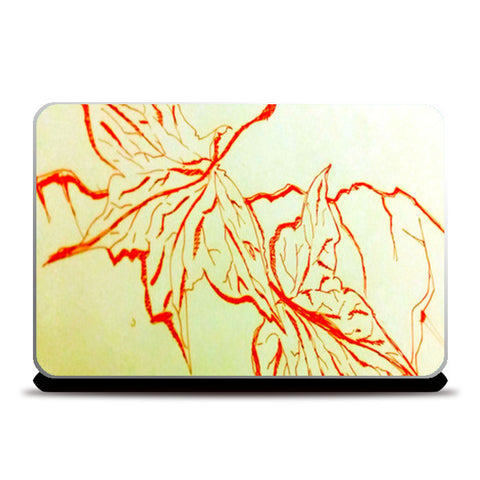 Laptop Skins, Leafy Cracks Laptop Skins | Artist : Awanika Anand, - PosterGully