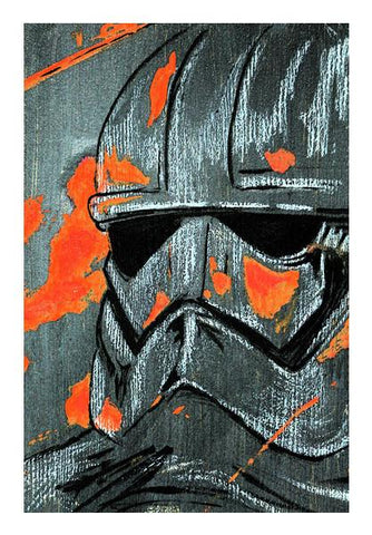PosterGully Specials, Storm Trooper Star Wars Force Awakens Wall Art | Artist : Samar Khan, - PosterGully