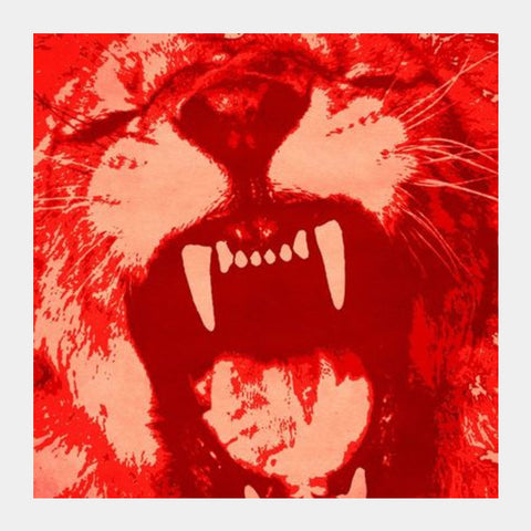 Square Art Prints, Hear me roar Square Art Prints | Artist : Durro Art, - PosterGully