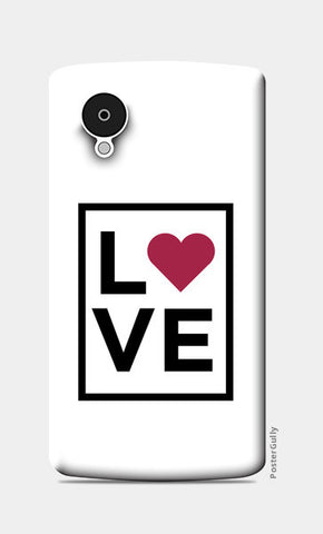 Love Nexus 5 Cases | Artist : Abhishek Bhardwaj