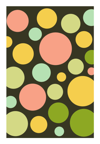 Rich Colors Circle Pattern Art PosterGully Specials