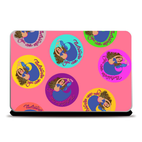 mermaid tiles Laptop Skins | Artist : parul dang