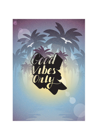 Good Vibes Only Wall Art | Artist : Colour me expressive