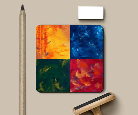Seasons Coasters | Artist : Shubhangni Gupta