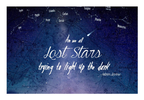 Wall Art, Lost Stars Wall Art | Artist: Aditya Golechha, - PosterGully