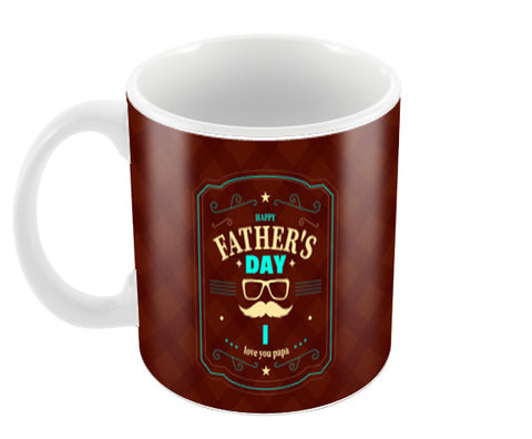 Happy Father's Day Art | #Father's Day Special  Coffee Mugs | Artist : Creative DJ