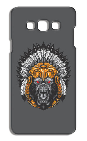 Gorilla Wearing Aztec Headdress Samsung Galaxy A7 Cases | Artist : Inderpreet Singh