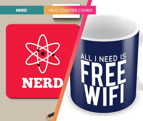 Techie | Mug Coaster Set
