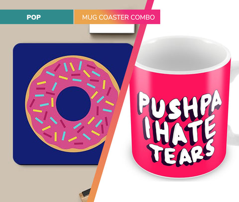 Pop | Mug Coaster Set
