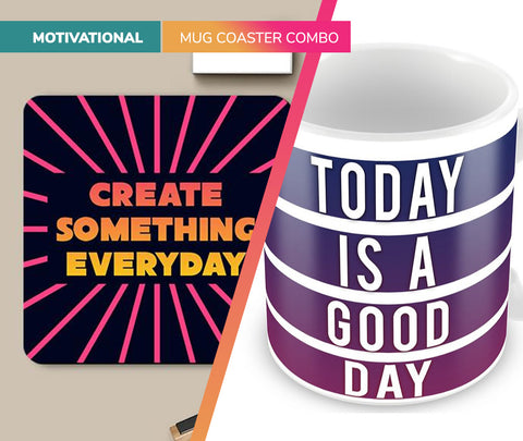 Motivational | Mug Coaster Set