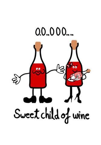 PosterGully Specials, Sweet child of wine ( mine ) Wall Art | Artist : Keshava Shukla, - PosterGully