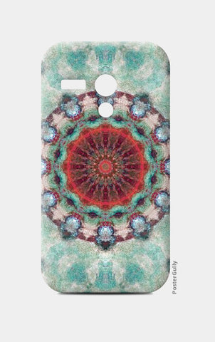 Moto G Cases, red kaleidoscope Moto G Case | Artist: harshad parab, - PosterGully