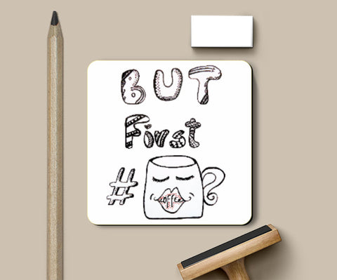 Coasters, coffee love Coaster | Ayushi Teotia, - PosterGully