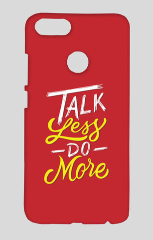 Talk Less Do More Xiaomi Mi-5X Cases | Artist : Inderpreet Singh
